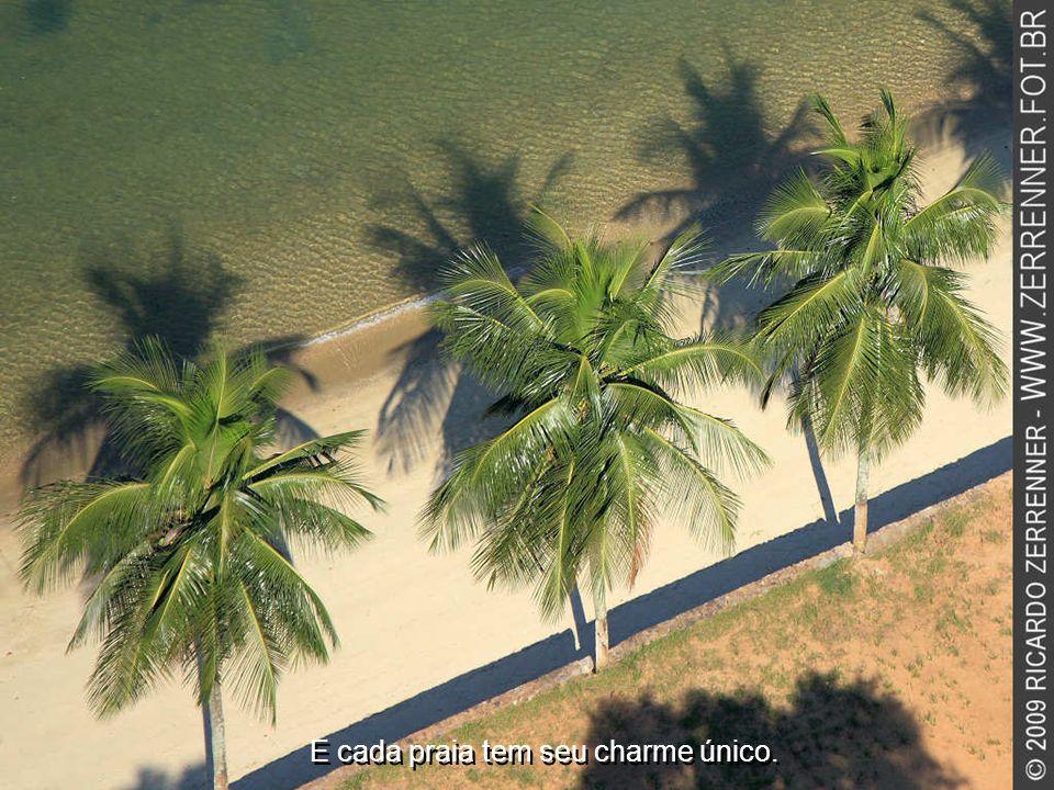 E cada praia tem seu charme único.