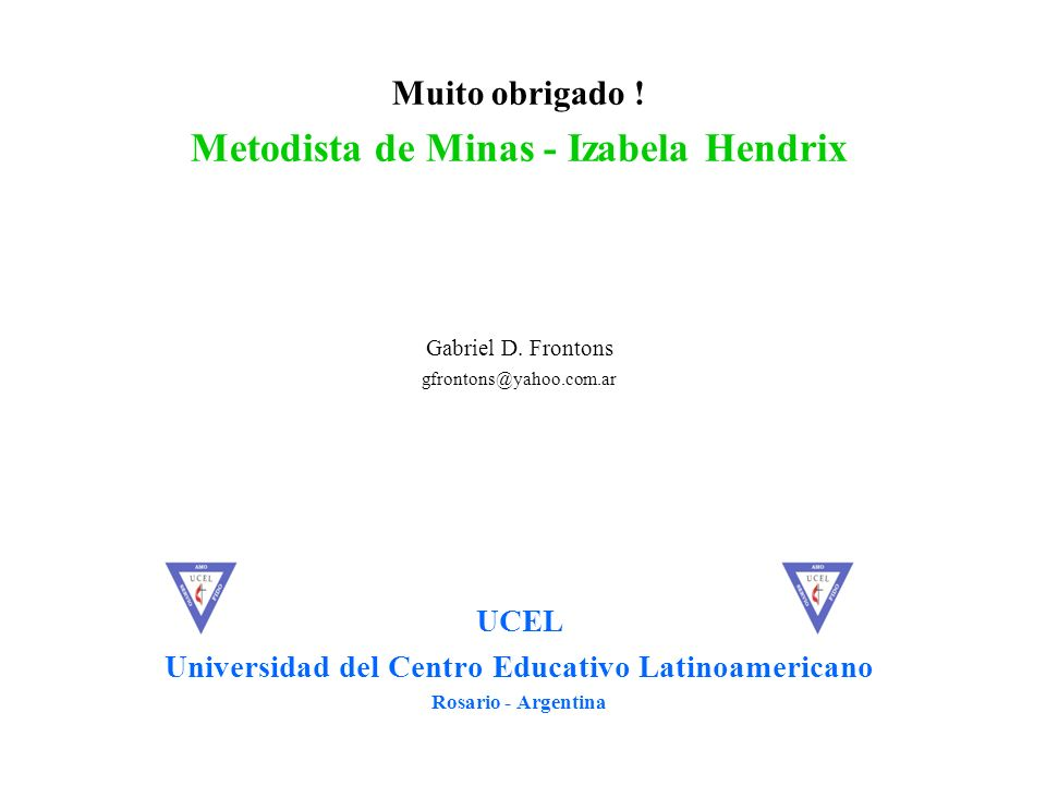 Metodista de Minas - Izabela Hendrix