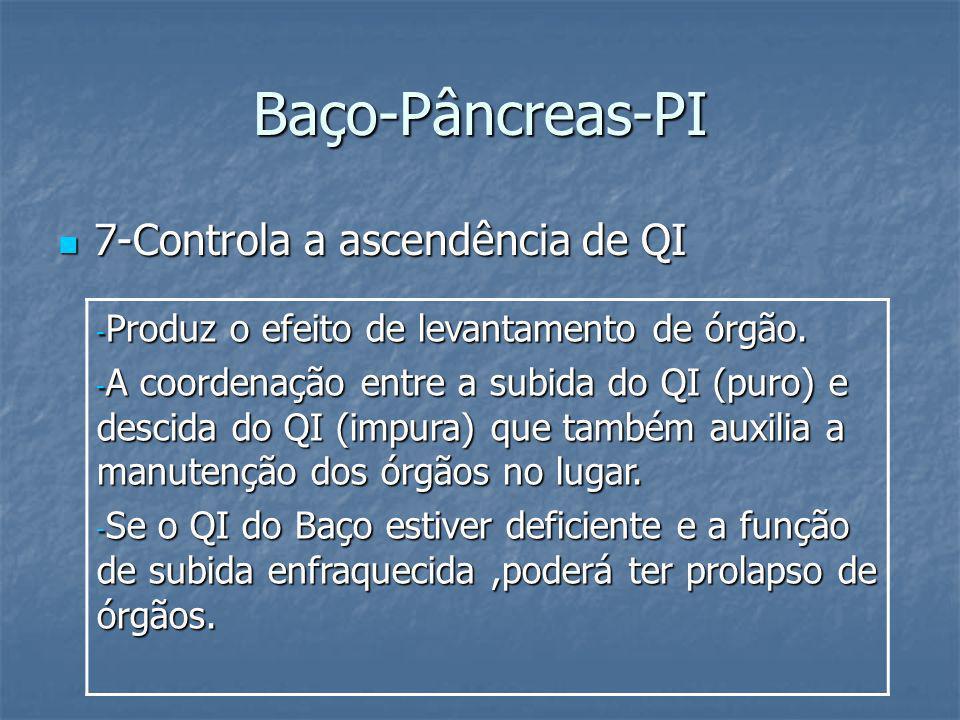 Baço-Pâncreas-PI 7-Controla a ascendência de QI