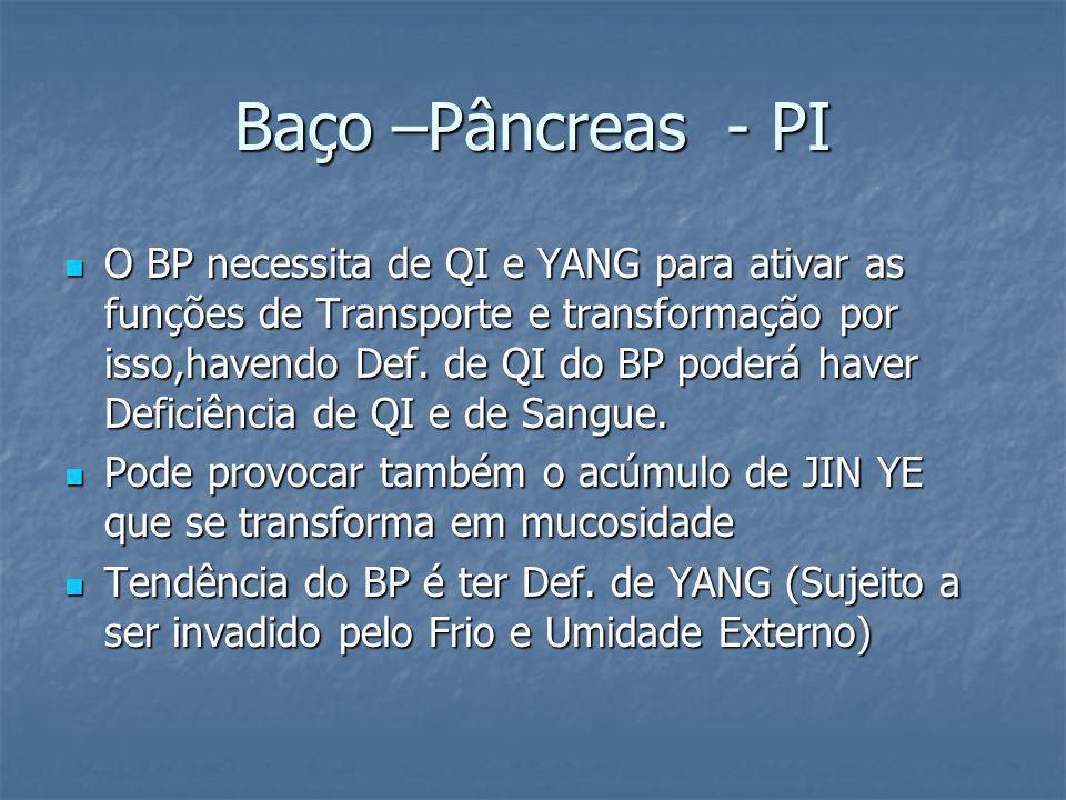 Baço –Pâncreas - PI
