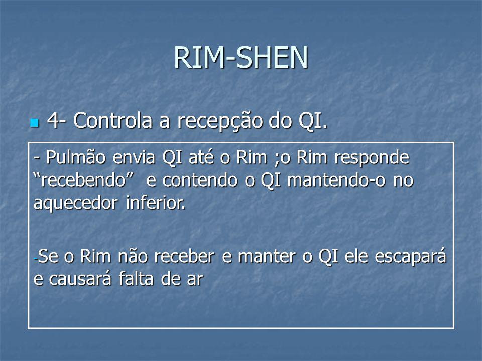 RIM-SHEN 4- Controla a recepção do QI.