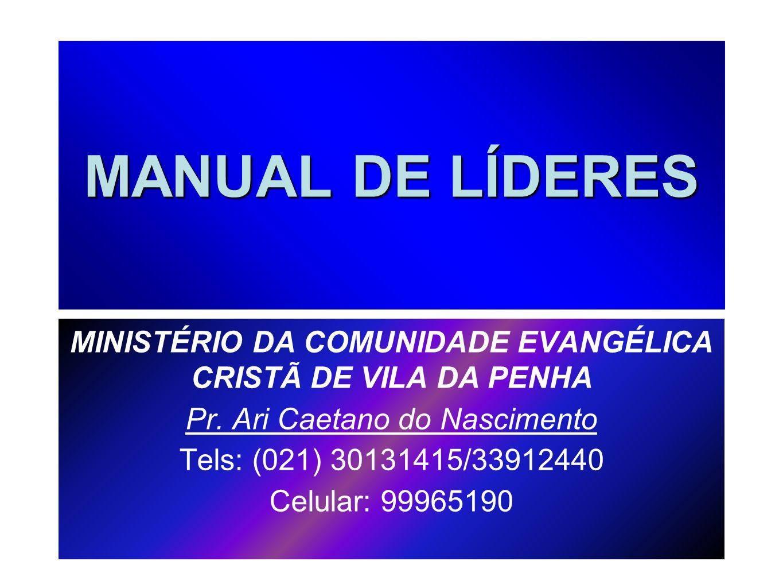 MINISTÉRIO DA COMUNIDADE EVANGÉLICA CRISTÃ DE VILA DA PENHA