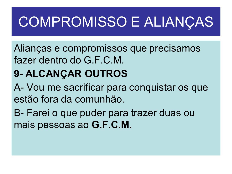 COMPROMISSO E ALIANÇAS