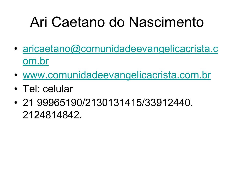 Ari Caetano do Nascimento