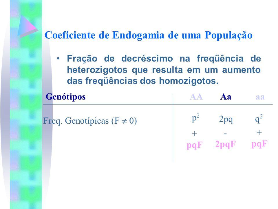 Coeficiente de Endogamia de uma População