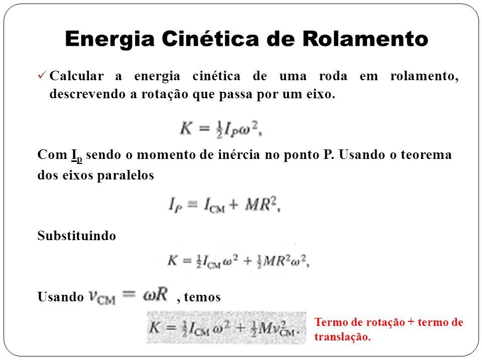 Energia Cinética de Rolamento