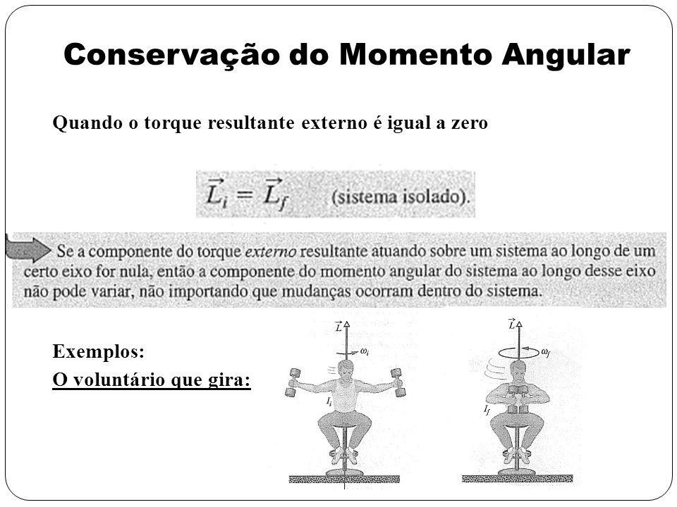 Conservação do Momento Angular