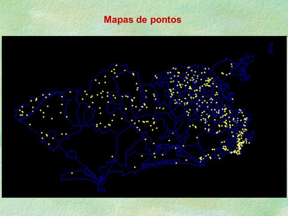 Mapas de pontos