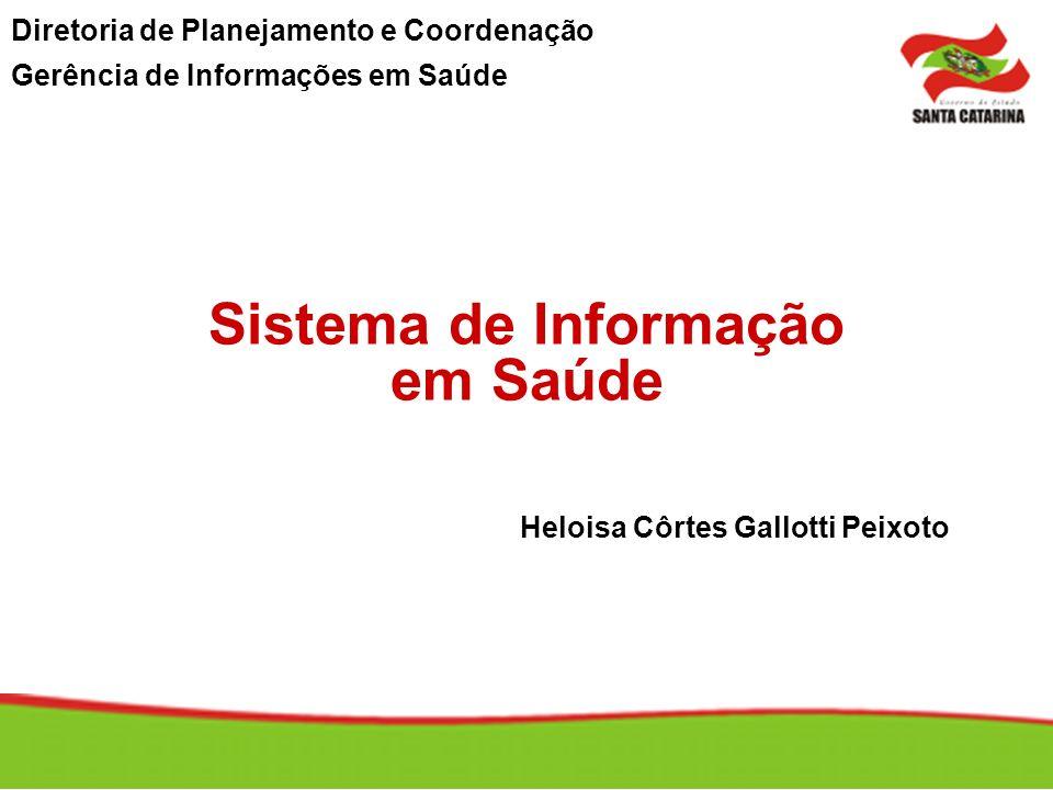 Sistema de Informação em Saúde