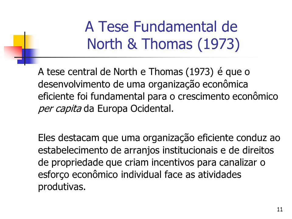 A Tese Fundamental de North & Thomas (1973)