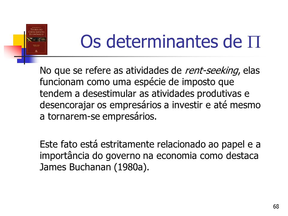 Os determinantes de 