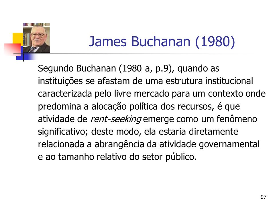 James Buchanan (1980)