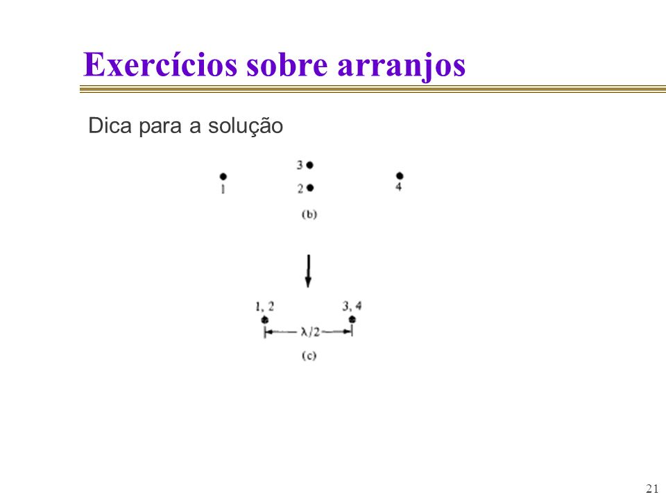 Exercícios sobre arranjos