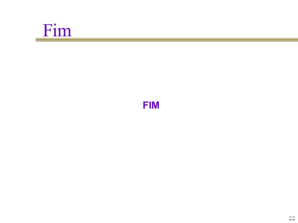 Fim FIM 22 22