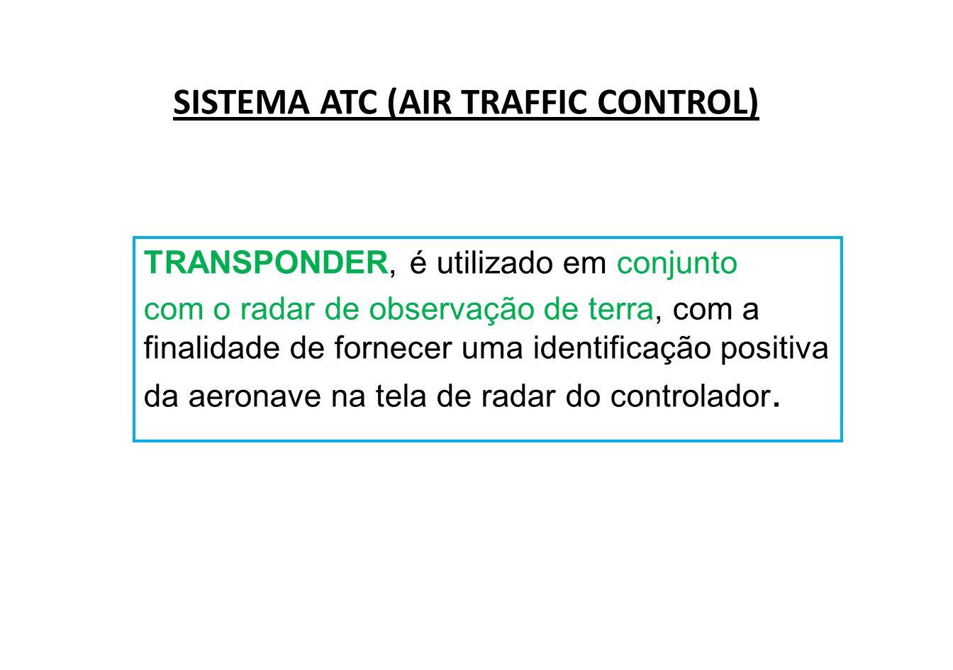SISTEMA ATC (AIR TRAFFIC CONTROL)
