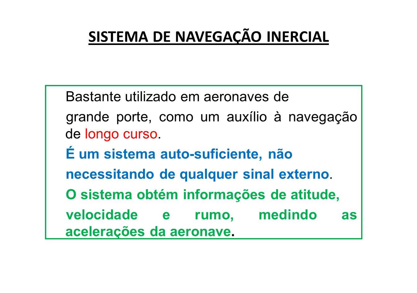 SISTEMA DE NAVEGAÇÃO INERCIAL