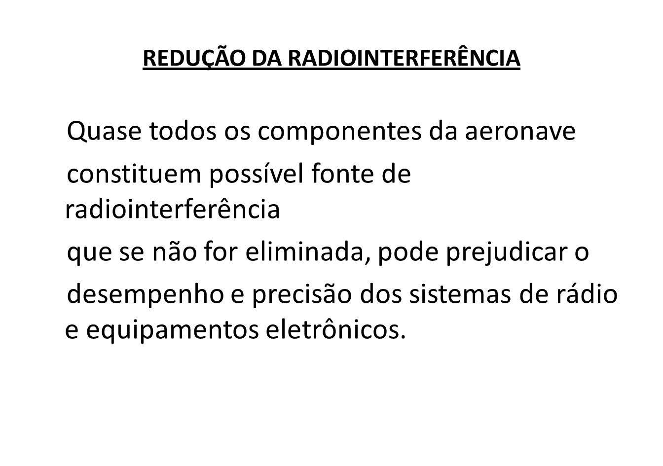 REDUÇÃO DA RADIOINTERFERÊNCIA