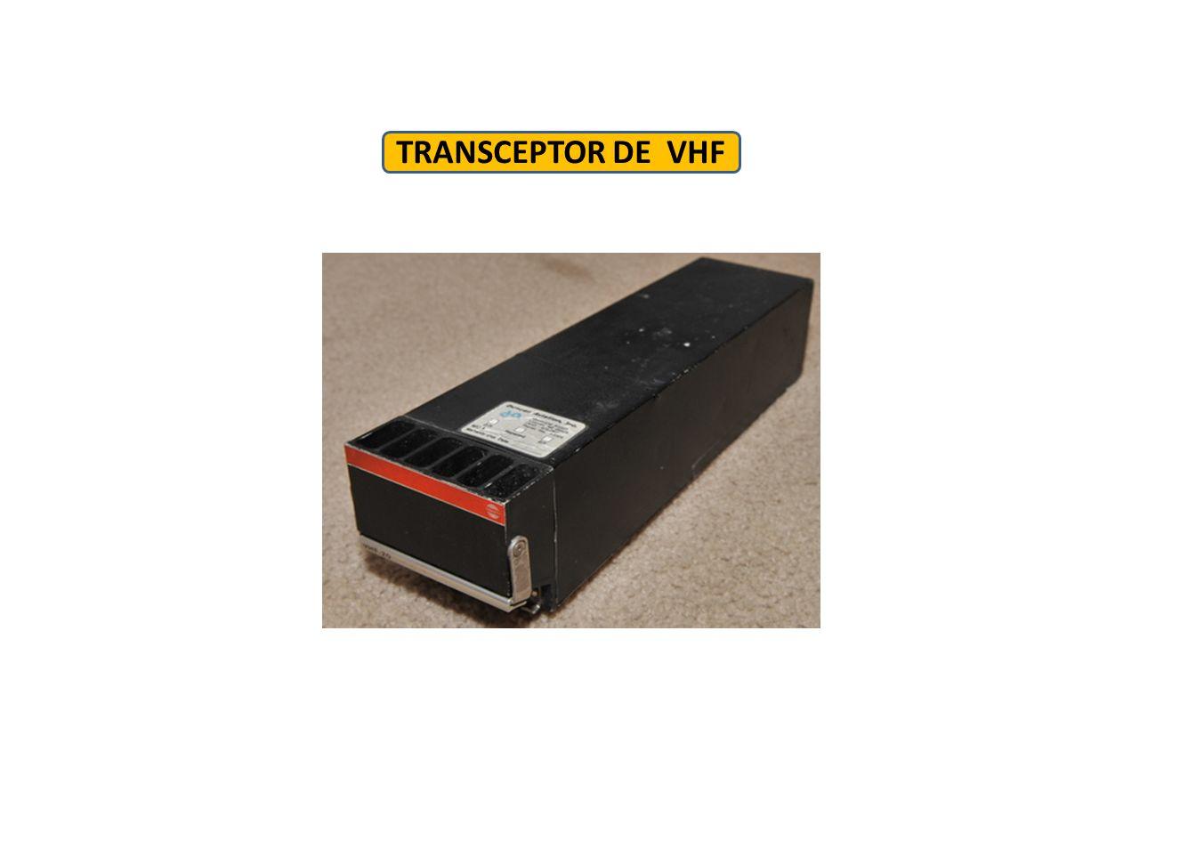 TRANSCEPTOR DE VHF