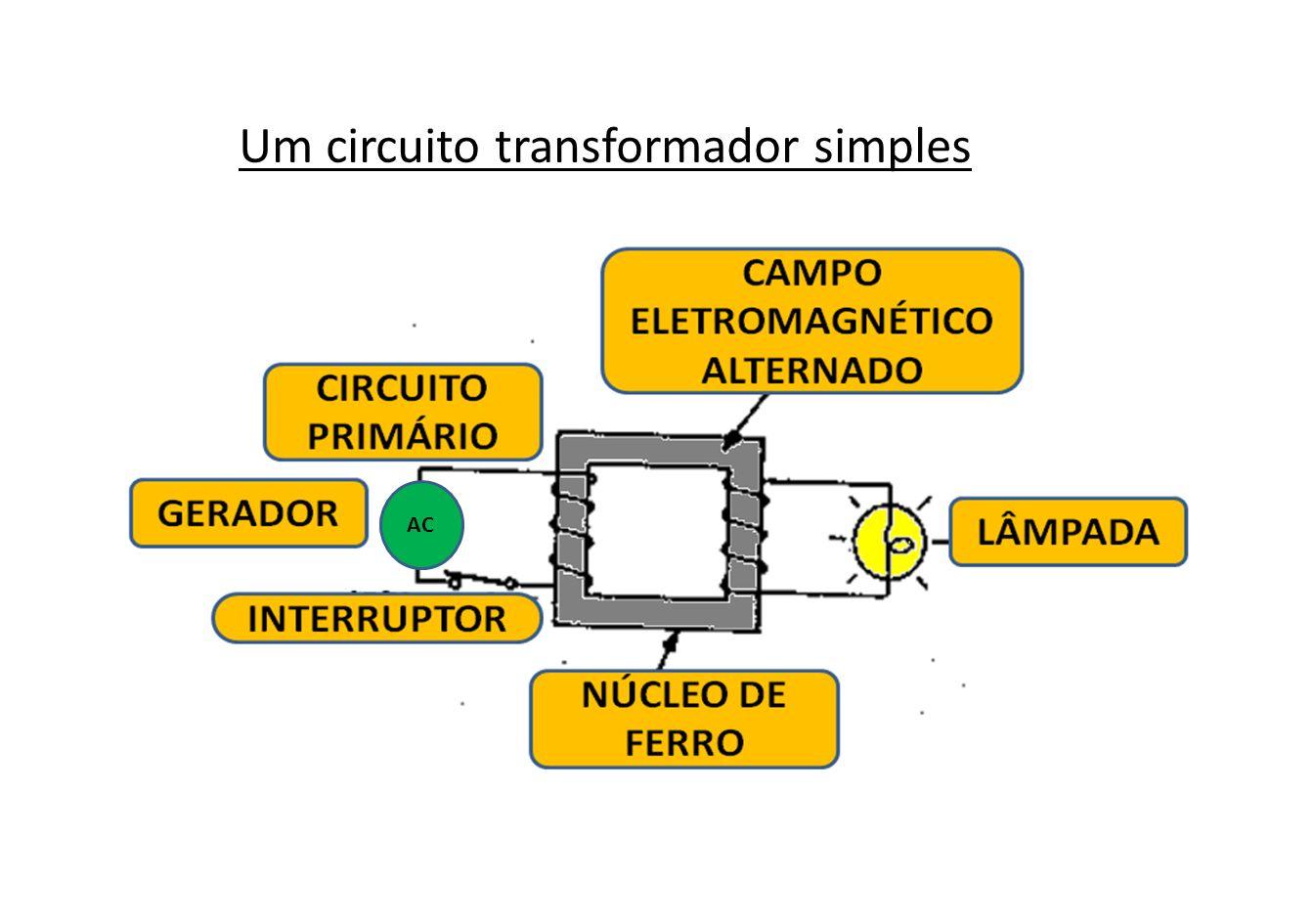 Um circuito transformador simples