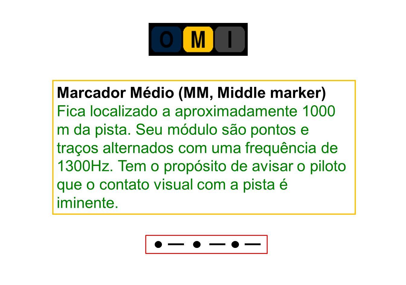 Marcador Médio (MM, Middle marker)