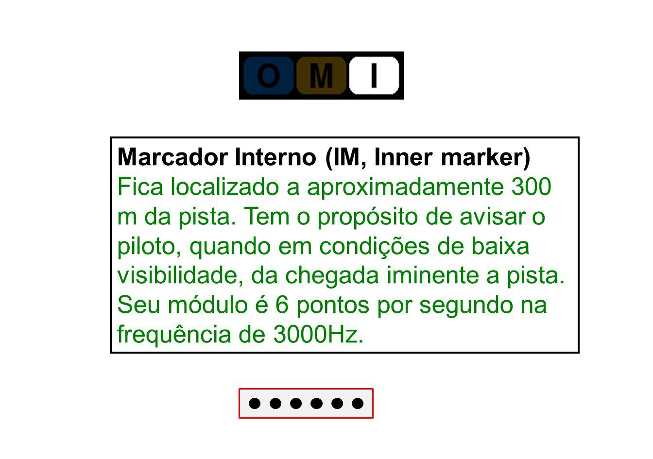 Marcador Interno (IM, Inner marker)