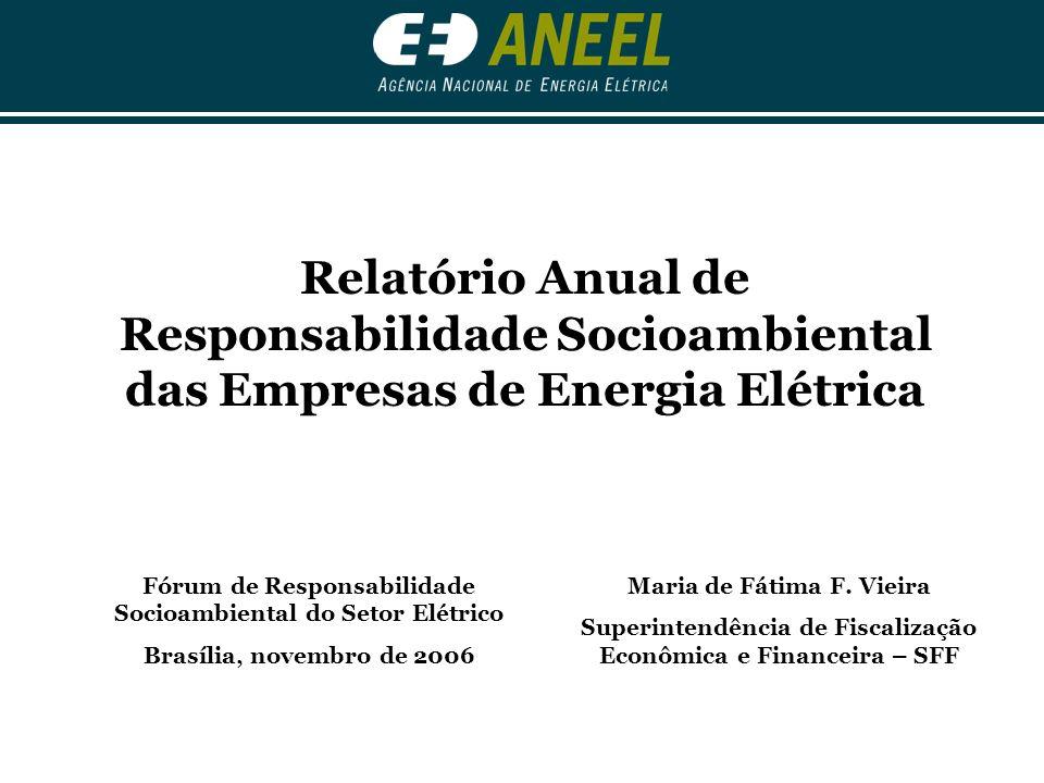 Responsabilidade Socioambiental das Empresas de Energia Elétrica