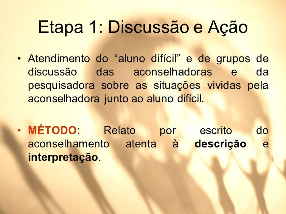 Etapa 1: Discussão e Ação
