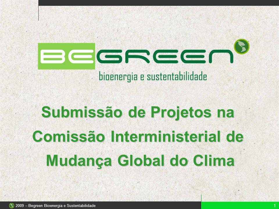 Submissão de Projetos na Comissão Interministerial de