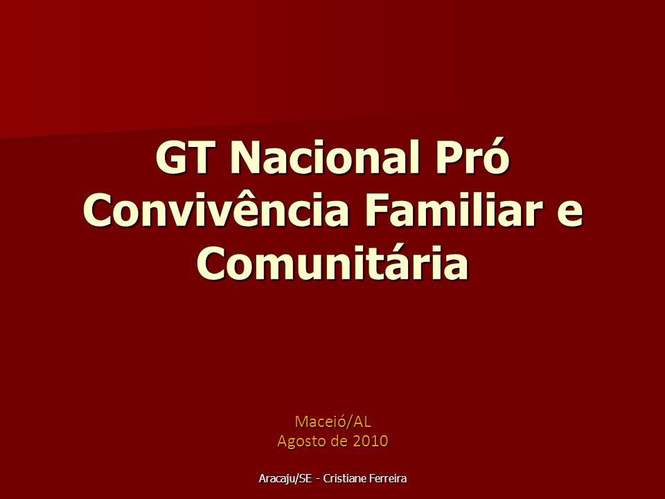 GT Nacional Pró Convivência Familiar e Comunitária
