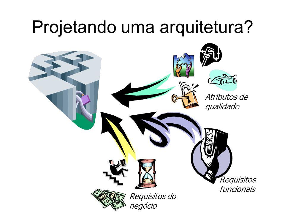 Projetando uma arquitetura