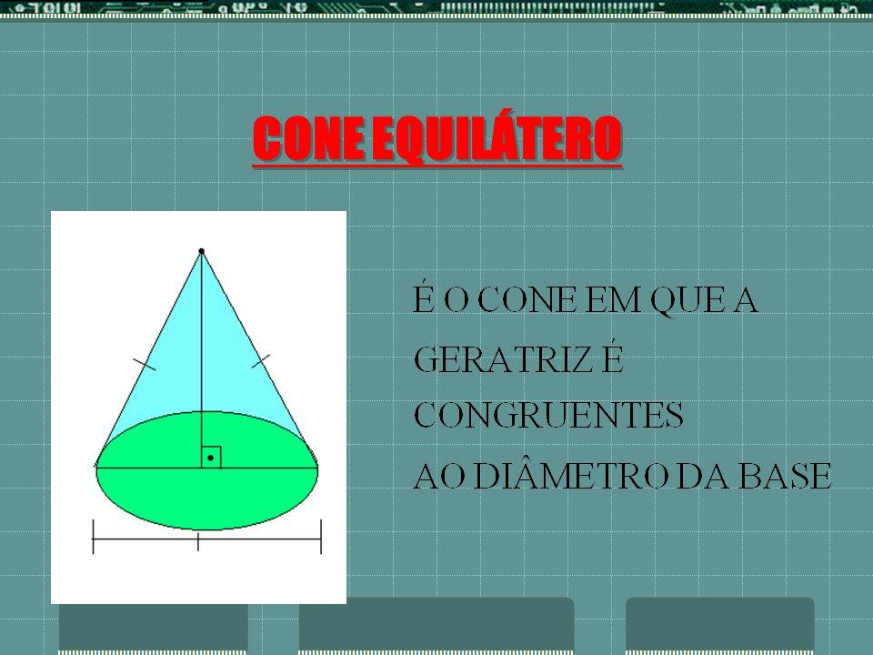 CONE EQUILÁTERO