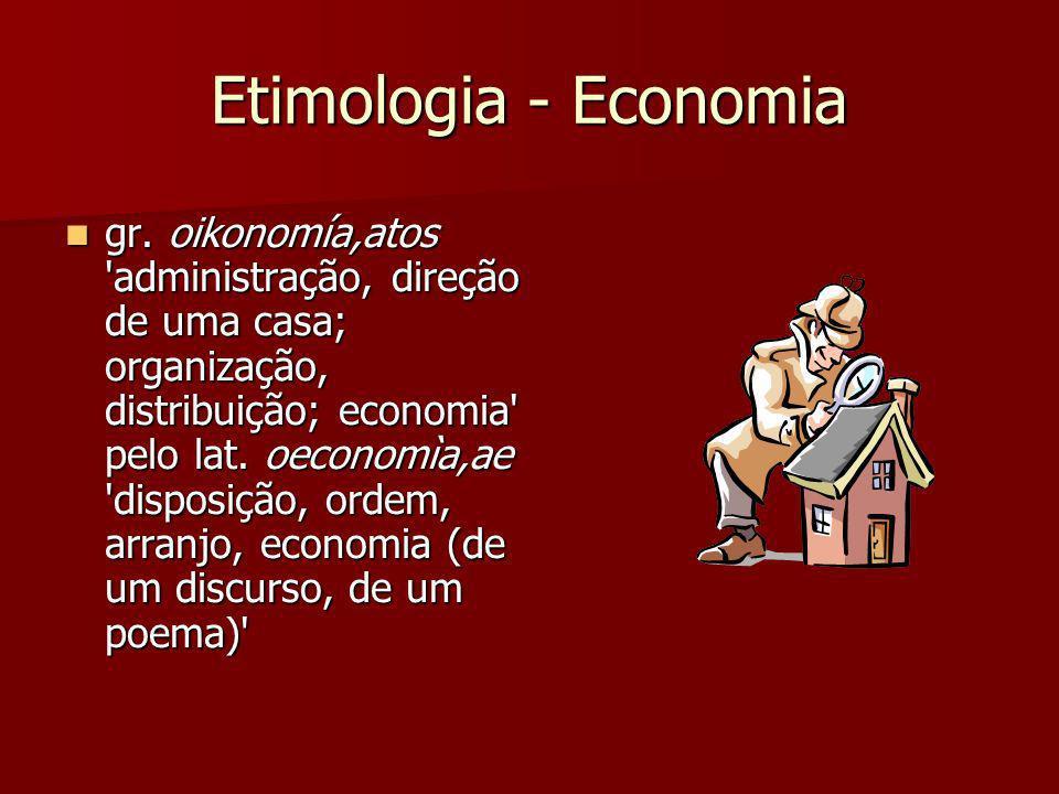 Etimologia - Economia