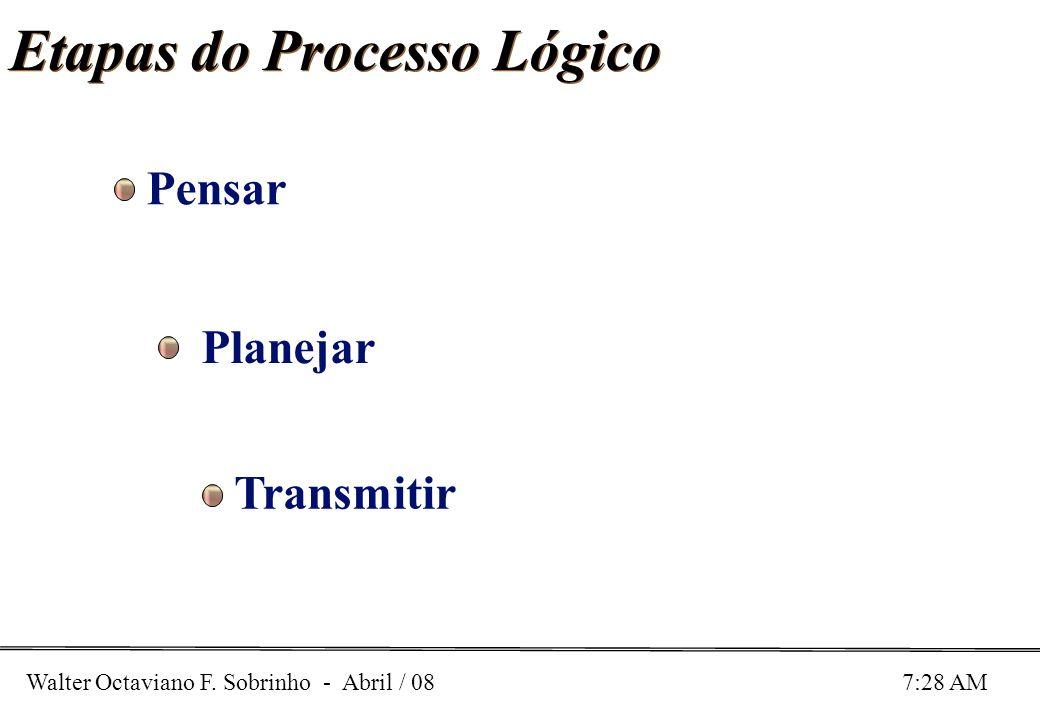 Etapas do Processo Lógico