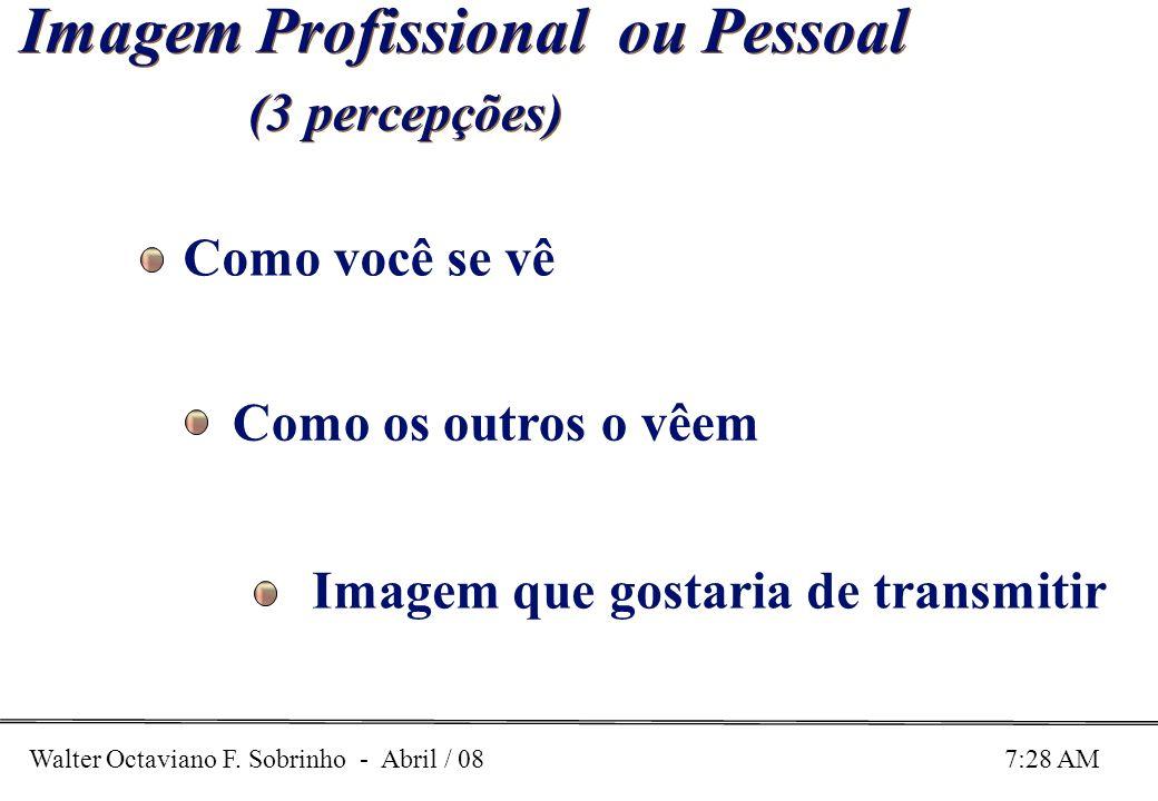 Imagem Profissional ou Pessoal (3 percepções)