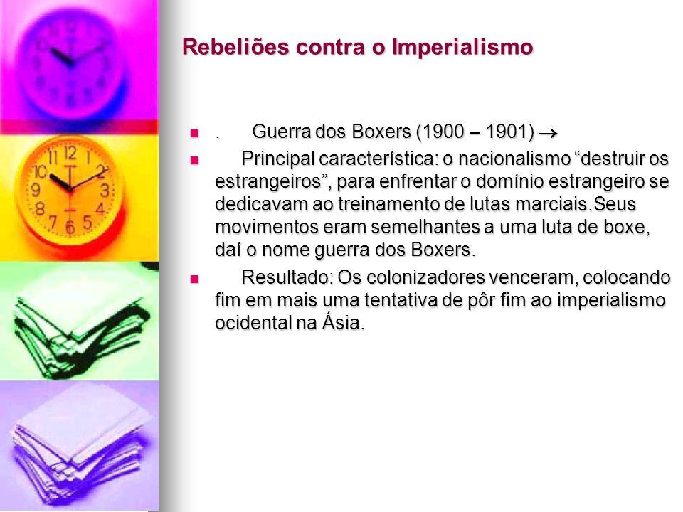 Rebeliões contra o Imperialismo
