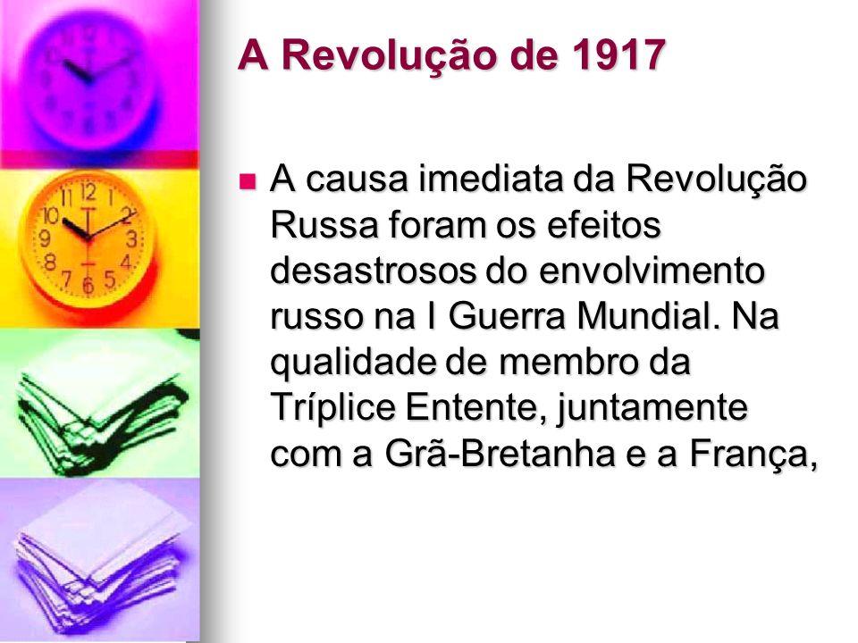 A Revolução de 1917
