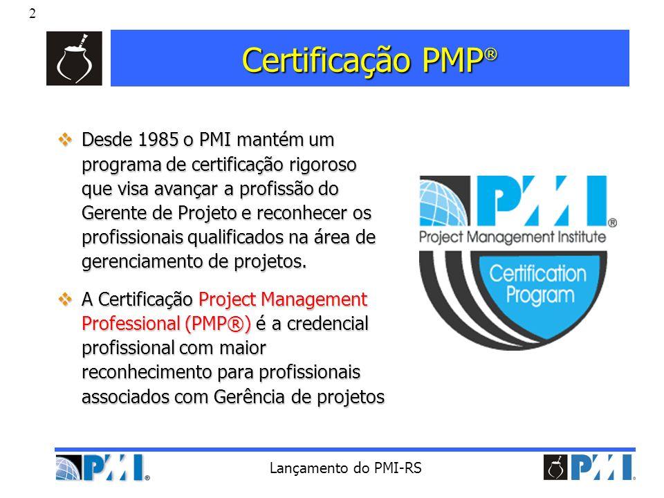 Certificação PMP®