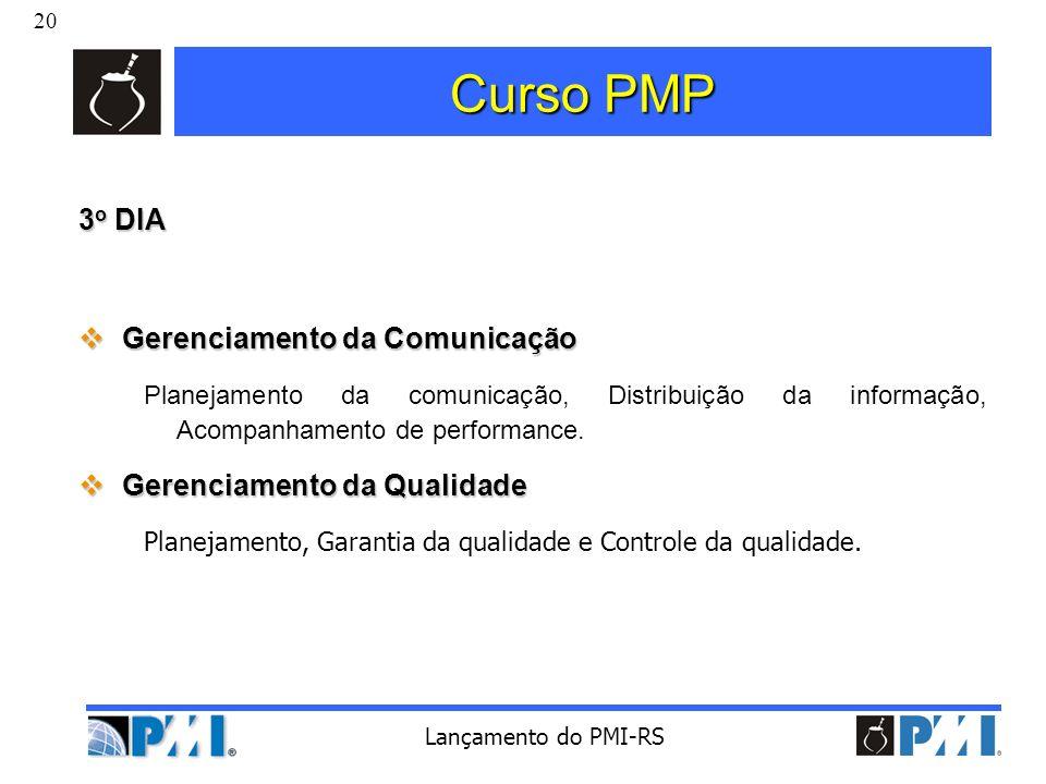 Curso PMP 3o DIA Gerenciamento da Comunicação