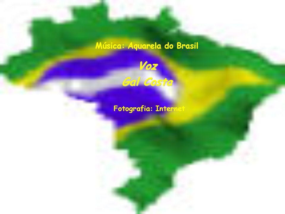 Música: Aquarela do Brasil