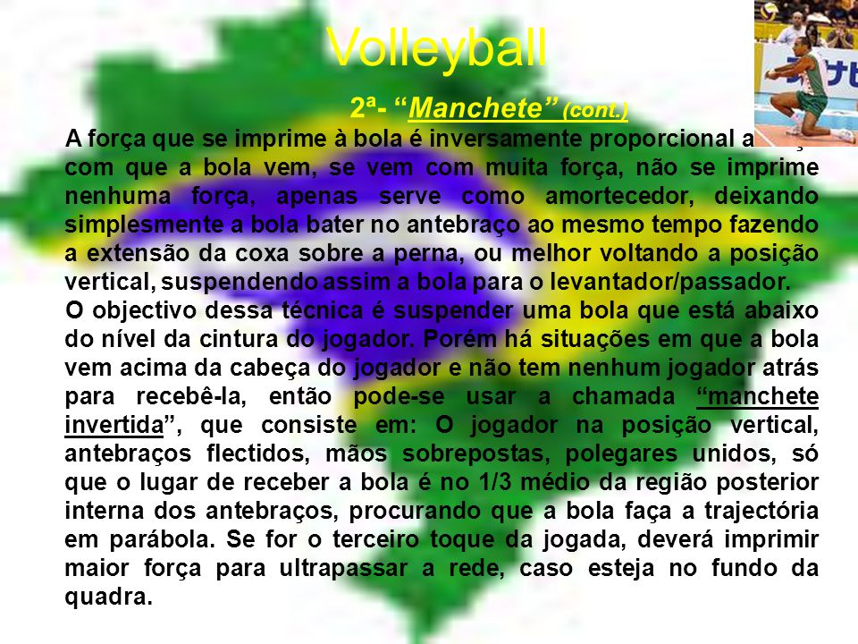 Volleyball 2ª- Manchete (cont.)