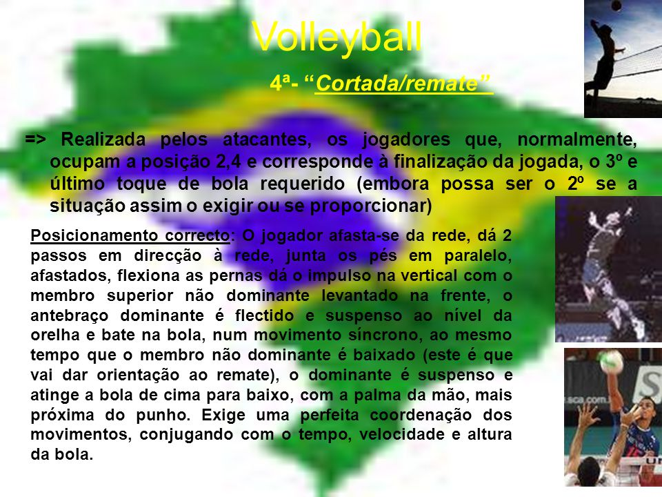 Volleyball 4ª- Cortada/remate