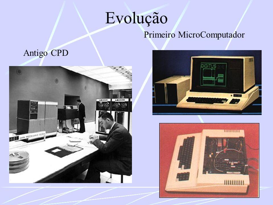 Evolução Primeiro MicroComputador Antigo CPD