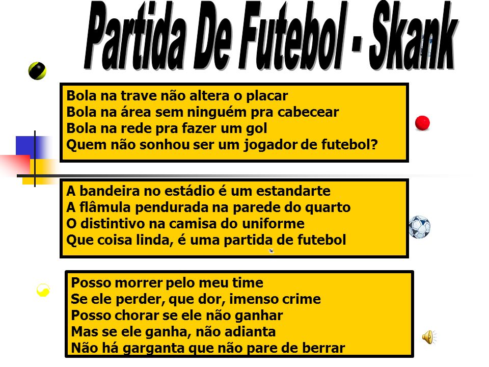 Partida De Futebol - Skank