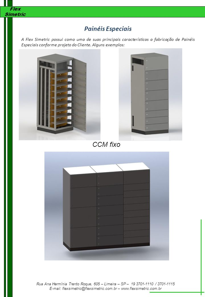 Painéis Especiais CCM fixo