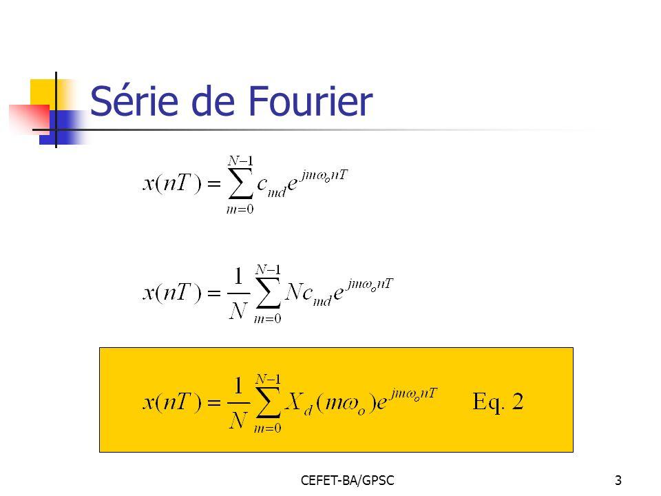Série de Fourier CEFET-BA/GPSC