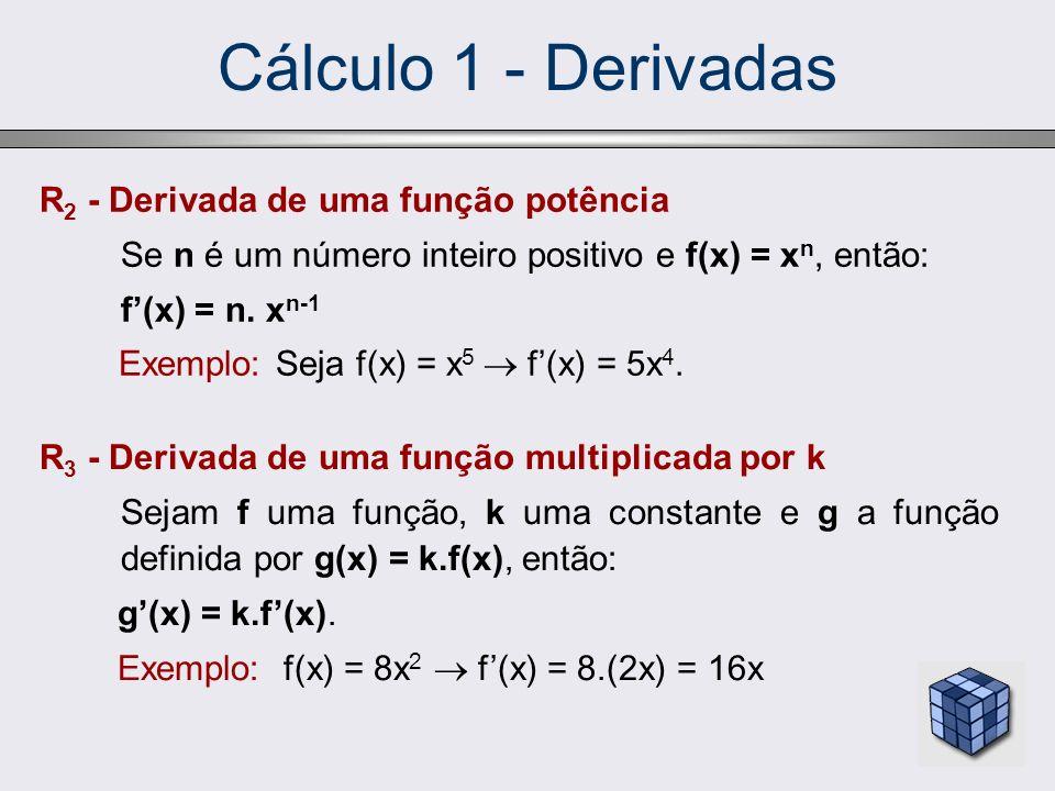 Cálculo 1 - Derivadas R2 - Derivada de uma função potência