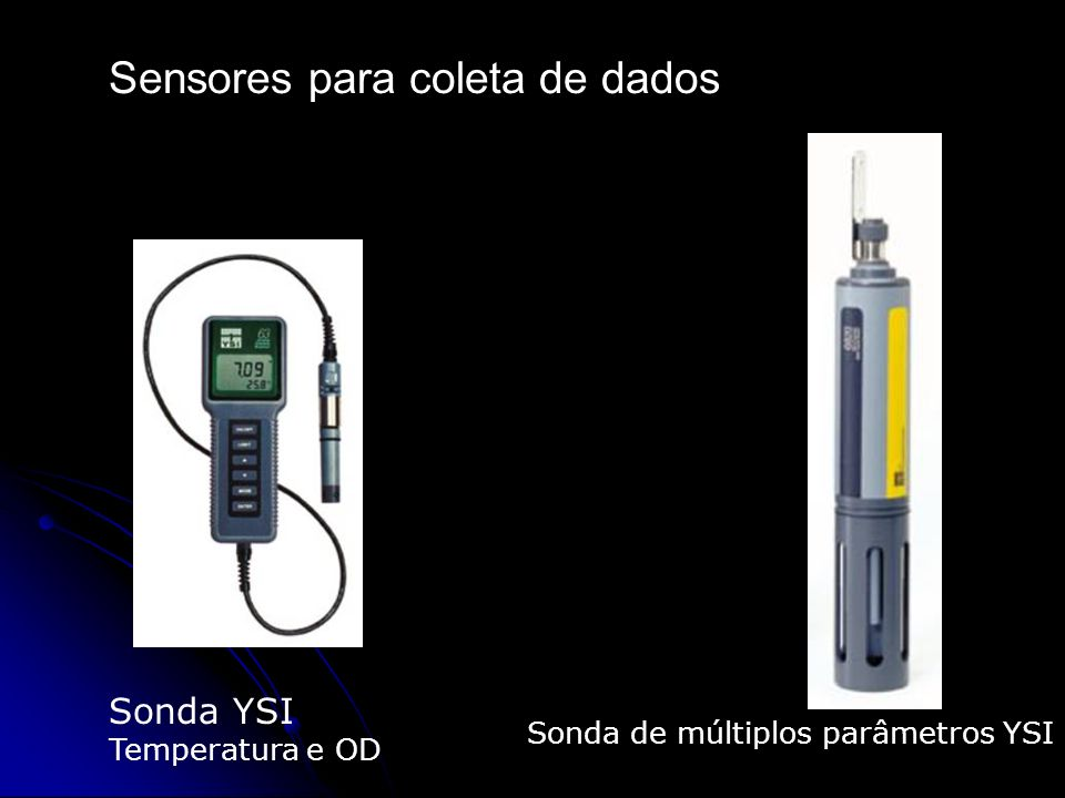Sensores para coleta de dados