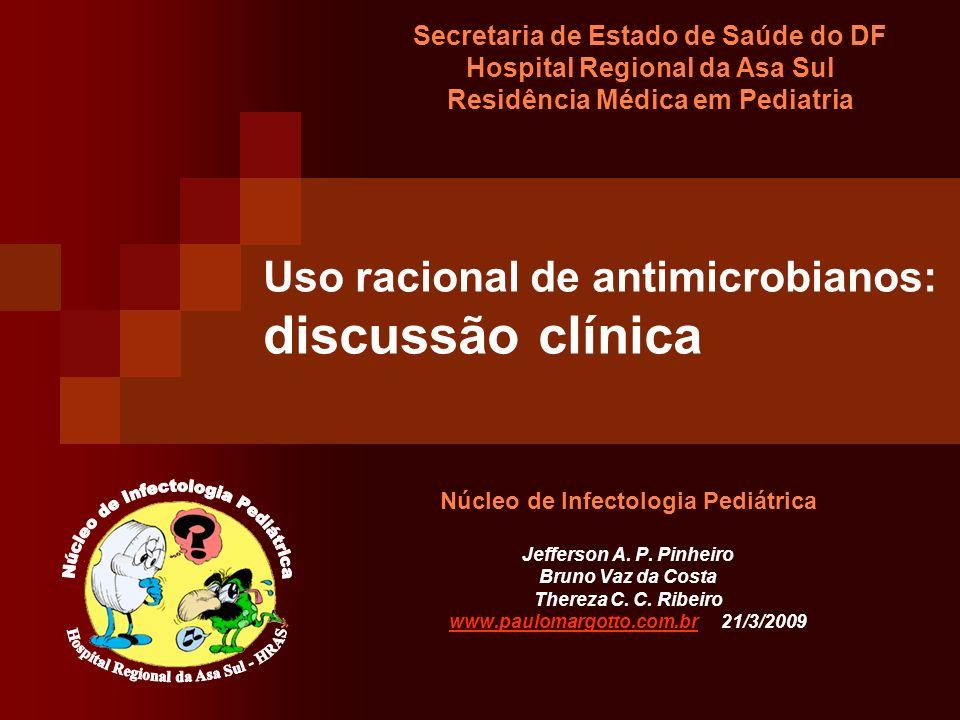 Uso racional de antimicrobianos: discussão clínica