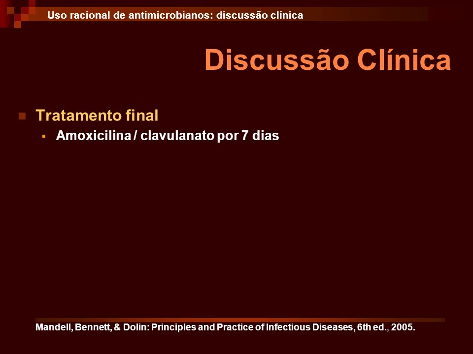 Discussão Clínica Tratamento final