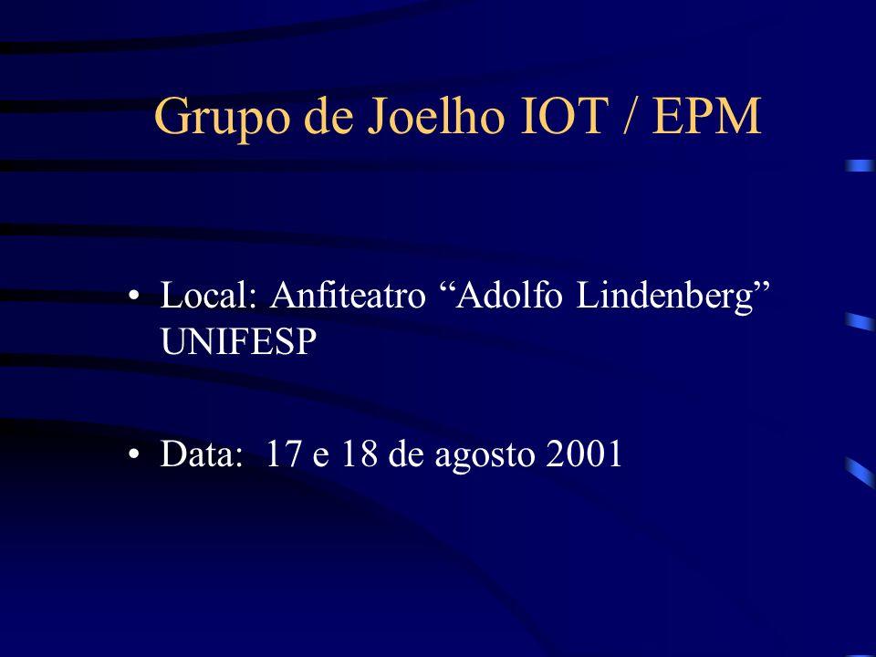 Grupo de Joelho IOT / EPM